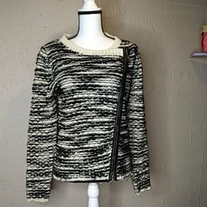 My Beloved Moto Asymentrical Sweater Cardigan S/M